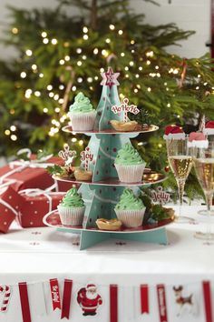 Stojak na babeczki CHRISTMAS CHEER