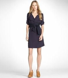 Gorgeous work dress. Too expensive. Darn you, Tory. $276