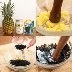 Face Scrubs for Every Skin Type Lava sea salt + pineapple + coconut oil = DIY exfoliant and deep cleaning face scrub.Lava sea salt + pineapple + coconut oil = DIY exfoliant and deep cleaning face scrub. Homemade Face Cleanser, Face Scrub Homemade, Homemade Skin Care, Homemade Face Masks, Homemade Beauty, Diy Beauty, Beauty Tips, Beauty Hacks, Beauty Stuff
