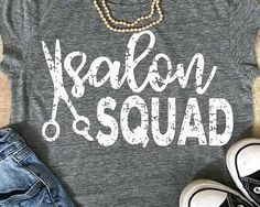 Salon squad svg, Stylist svg, Salon svg, grunge svg, vintage svg, hair dresser svg, salon clip art, scissors svg, SVG, DXF, EPS, cricut,