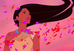 Can you paint with all the colors of the wind? Pocahontas can.