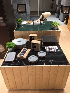 New Tulikivi Karelia models all come with cooking/grilling posibilities Outdoor Furniture Sets, Outdoor Decor, Grilling, Patio, Models, Cooking, Home Decor, Templates, Kitchen