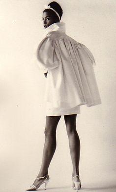 #vintage Veronica Webb in Isaac Mizrahi, Isaac Mizrahi's first collection, 1987