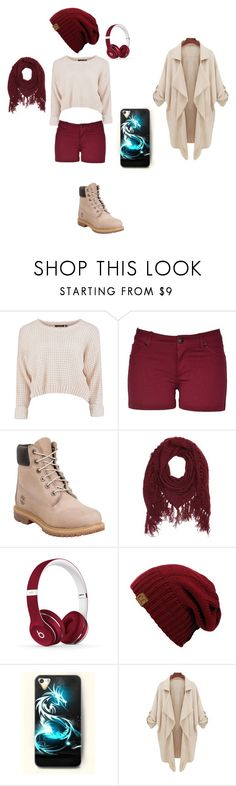 """""""Elle ... est morte ..."""" by marikaka24400 on Polyvore featuring mode, Timberland, Charlotte Russe et Beats by Dr. Dre"""