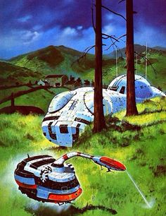 The Ufonaughts By Chris Foss, 1970s