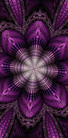 Barbara A Lane, Digital Artist metal fractal mandala Art Fractal, Fractal Images, Fractal Design, Kaleidoscope Art, Ps Wallpaper, Psychedelic Art, Optical Illusions, Sacred Geometry, Amazing Art