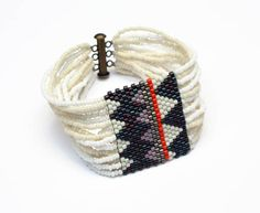 bluma project ivory textile swatch bracelet  coming soon to abc home.