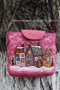 Фактура цвета. Настроение. Идеи. Felt Diy, Felt Crafts, Wet Felting, Needle Felting, Boite A Lunch, Creative Textiles, Felt Purse, House Quilts, Floral Bags