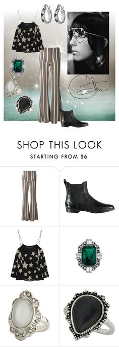 """""""Magic In The Air"""" by rossvanderh ❤ liked on Polyvore featuring Stone_Cold_Fox, UGG Australia, Topshop, Chloe + Isabel, Charlotte Russe, Miss Selfridge and House of Harlow 1960"""