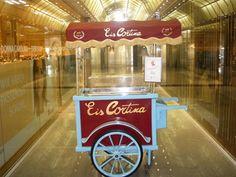 Eiscafe Cortina Eisagen   aus Mannheim 200€ (ohne Eis) Anlieferung inkl.
