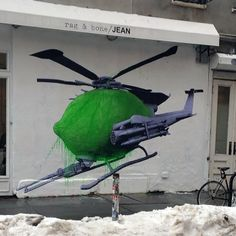 New Ludo piece in New York, I love it. Ludo is opening a new show at Jonathan Levine soon.