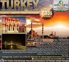Satguru Indonesia - Travel Management Company, 1 : Hello travelers, saatnya liburan ke Turkey selama 6 hari bersama kami mengunjungi beberapa lokasi wisata menarik dan indah dengan harga terjangkau dan kenyamanan bersama keluarga. 👉Hubungi kami dan pesan sekarang juga! *harga sewaktu-waktu bisa berubah. -------------------------- 💳Dapatkan diskon dan promo khusus lainnya di bulan ini. -------------------------- 🏠Hubungi kami atau kunjungi: 📍Kuningan City - Level 2 / 18  Jl. Prof. Dr…