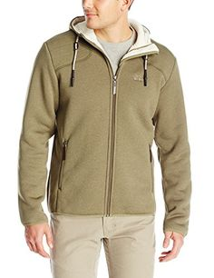 Jack Wolfskin Mens Terra Nova Hooded Jacket Large Burnt Olive ** Check out the image by visiting the link.(This is an Amazon affiliate link)
