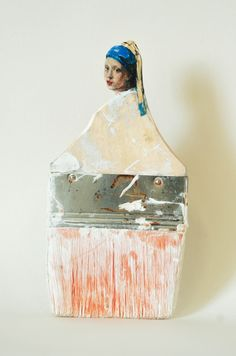 The World is Your Oyster; paintbrush portraits by Rebecca szeto