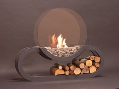bio-fireplace-- not sure.. maybe a bit too modern, but still cool