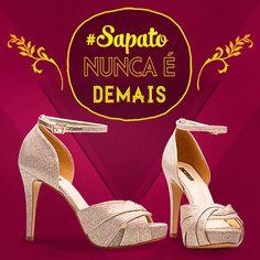 Sapato nunca é demais MESMO! <3 #diva #divalesi #fashion