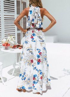 6135505f8be Maternity Styles - cool maternity dresses   Women Boho Floral Dress  SanCanSn Long Maxi Dress Sleeveless