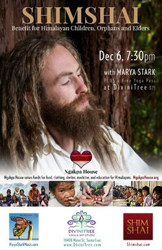 Santa Cruz, CA This event will be to raise funds for the Ngakpa House who supports children, orphans and elders in the Himalayas with food, shelter, clothing, medicine, education and protection of the spiritual her… Click flyer for more >>