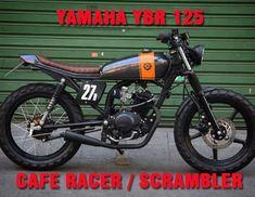 Alvara, the small Yamaha ybr 125 cafe racer - Motorrad Virago Cafe Racer, Yamaha Cafe Racer, Cafe Racer Logo, Gs 500 Cafe Racer, Cafe Racer Build, Cafe Racer Motorcycle, Girl Motorcycle, Motorcycle Quotes, Yamaha 125