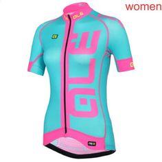 639c9359c8a61 2018 ALE Cyklistika s krátkým rukávem Dámské Cyklistické oblečení Bicycle  Wear 100% Polyester Prodyšné prodyšné