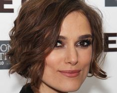 kiera knightley curly bob 25 Encouraging Keira Knightley Short Hair