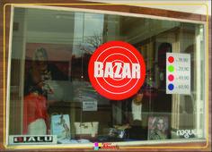 Adesivo vitrine - Bialu - Campos Novos-SC