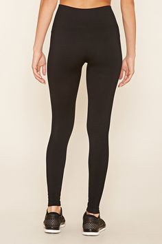 Active Ribbed Leggings | Forever 21 - 2000219811