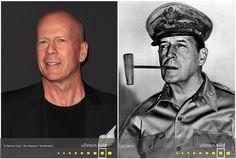Bruce Willis | General Douglas MacArthur Douglas Macarthur, Bruce Willis, Den, Time Travel, Celebrities, Figurine