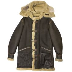 B-7 Aleutian WWII Sheepskin Parka | Proudly made in the USA