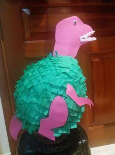 Girl dinosaur pinata Πινιάτα Δεινοσαυρίνα