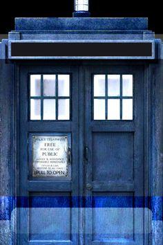Doctor who TARDIS iphone lock screen wallpaper. You're welcome :b