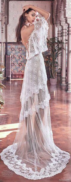galia lahav spring 2018 bridal off the shoulder angel sleeves sweetheart neckline full embellishment capelet vintage a  line wedding dress sweep train (lizzy) sdv -- Galia Lahav Spring 2018 Wedding Dresses