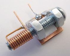A Homemade Variable Tuning Capacitor for tuning in your FM stations... Arduino Projects