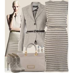 I can't afford any of these outfits, but what a great idea for planning future ones while out bargain shopping. Freaking Pinterest. Too many good ideas :)