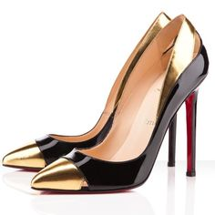 Louboutin 'Duvette' Pump  I would wear these everyday....it would make everything an event.