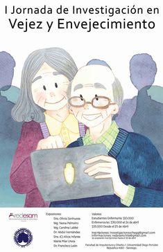 Chile:I Jornada de Investigación en Vejez y Envejecimiento | Central Informativa del Adulto Mayor