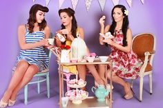 Very Vintage Style Hen Party Ideas