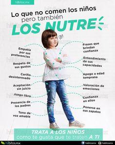 Hábitos Health Coaching | LO QUE NO COMEN LOS NIÑOS PERO TAMBIÉN LOS NUTRE =) Baby Store, Happy Kids, Raising Kids, Health Coach, Our Kids, Kids Education, Kids And Parenting, Mom And Dad, Kids Learning
