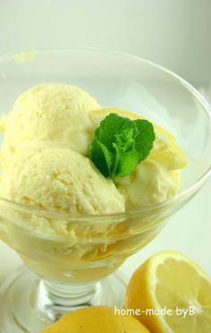 Home-made by B: Sladoled od limuna