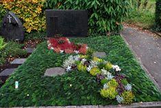Friedhofsgärtnerei Durlach, Durlach Aue Und Grötzingen Erste Grabanlage