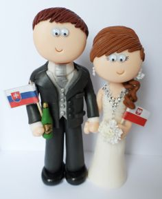 personalised cake topper wedding cake topper couple