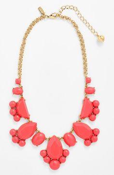 Kate Spade New York 'Day Tripper' bib necklace via @Nordstrom