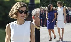 Queen Letizia channels summertime chic in all-white ensemble