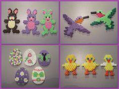 Easter hama perler by Krea Krumspring