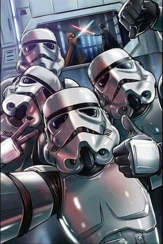Storm Trooper selfies