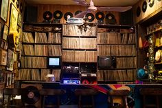 Bar Latino, Colombia In #Cali, south Colombia, discotecas are treasure troves of old-school salsa and other Latino music, with vast collections of vinyl, turntables, posters, and, of course, dance floors