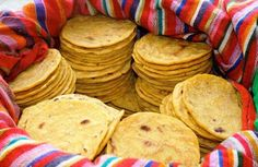 Tortillas de maíz. Yumm!