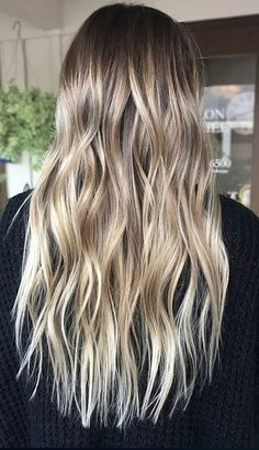 Best Hair Color Ideas 2017 / 2018 natural looking blonde highlights