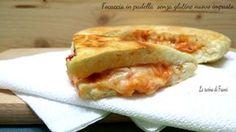 Una focaccia ancora più soffice e con una crosta saporita e croccante :Focaccia in padella senza glutine nuovo impasto
