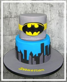 Batman Cake - Cake by Mel_SugarandSpiceCakes